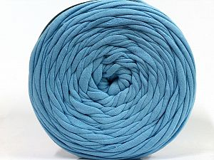 Make handbags,rugs,basket and cushion covers with this genius new-fashion yarn!<p>Since the yarn is made by upcycling fabrics, and because of the nature of the yarn; take the following notes into consideration. </p><ul><li>Fiber content information may vary. Information given about fiber content is approximate. </li><li>The yardage and weight information of the yarn is approximate. </li></ul> Fiber Content 95% Cotton, 5% Elastan, Brand Ice Yarns, Baby Blue, fnt2-69924