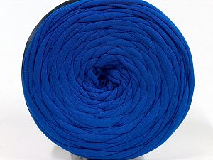 Make handbags,rugs,basket and cushion covers with this genius new-fashion yarn!<p>Since the yarn is made by upcycling fabrics, and because of the nature of the yarn; take the following notes into consideration. </p><ul><li>Fiber content information may vary. Information given about fiber content is approximate. </li><li>The yardage and weight information of the yarn is approximate. </li></ul> Fiber Content 95% Cotton, 5% Elastan, Saxe Blue, Brand Ice Yarns, fnt2-69925