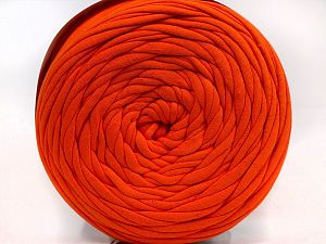 Make handbags,rugs,basket and cushion covers with this genius new-fashion yarn!<p>Since the yarn is made by upcycling fabrics, and because of the nature of the yarn; take the following notes into consideration. </p><ul><li>Fiber content information may vary. Information given about fiber content is approximate. </li><li>The yardage and weight information of the yarn is approximate. </li></ul> Fiber Content 95% Cotton, 5% Elastan, Orange, Brand Ice Yarns, fnt2-69929