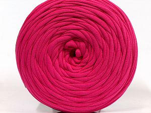 Make handbags,rugs,basket and cushion covers with this genius new-fashion yarn!<p>Since the yarn is made by upcycling fabrics, and because of the nature of the yarn; take the following notes into consideration. </p><ul><li>Fiber content information may vary. Information given about fiber content is approximate. </li><li>The yardage and weight information of the yarn is approximate. </li></ul> Fiber Content 95% Cotton, 5% Elastan, Brand Ice Yarns, Fuchsia, fnt2-69935