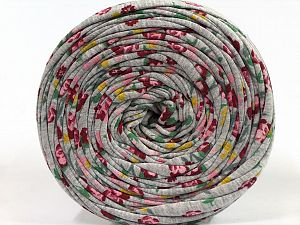 Make handbags,rugs,basket and cushion covers with this genius new-fashion yarn!<p>Since the yarn is made by upcycling fabrics, and because of the nature of the yarn; take the following notes into consideration. </p><ul><li>Fiber content information may vary. Information given about fiber content is approximate. </li><li>The yardage and weight information of the yarn is approximate. </li></ul> Fiber Content 95% Cotton, 5% Elastan, Brand Ice Yarns, Grey, fnt2-69951