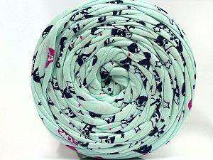 Make handbags,rugs,basket and cushion covers with this genius new-fashion yarn!<p>Since the yarn is made by upcycling fabrics, and because of the nature of the yarn; take the following notes into consideration. </p><ul><li>Fiber content information may vary. Information given about fiber content is approximate. </li><li>The yardage and weight information of the yarn is approximate. </li></ul> Fiber Content 95% Cotton, 5% Elastan, Mint Green, Brand Ice Yarns, fnt2-69963