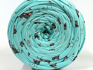 Make handbags,rugs,basket and cushion covers with this genius new-fashion yarn!<p>Since the yarn is made by upcycling fabrics, and because of the nature of the yarn; take the following notes into consideration. </p><ul><li>Fiber content information may vary. Information given about fiber content is approximate. </li><li>The yardage and weight information of the yarn is approximate. </li></ul> Fiber Content 95% Cotton, 5% Elastan, Turquoise, Brand Ice Yarns, fnt2-69968