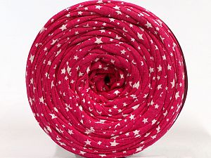 Make handbags,rugs,basket and cushion covers with this genius new-fashion yarn!<p>Since the yarn is made by upcycling fabrics, and because of the nature of the yarn; take the following notes into consideration. </p><ul><li>Fiber content information may vary. Information given about fiber content is approximate. </li><li>The yardage and weight information of the yarn is approximate. </li></ul> Fiber Content 95% Cotton, 5% Elastan, Brand Ice Yarns, Fuchsia, fnt2-69987