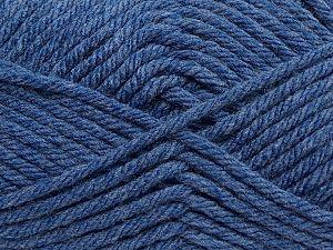 Fiber Content 100% Acrylic, Jeans Blue, Brand Ice Yarns, fnt2-69993