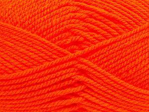 Bulky Fiber Content 100% Acrylic, Orange, Brand Ice Yarns, fnt2-69994