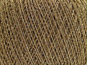 Fiber Content 100% Metallic Lurex, Brand Ice Yarns, Gold, fnt2-70052