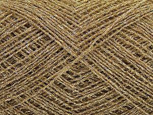 Fiber Content 100% Metallic Lurex, Brand Ice Yarns, Gold, fnt2-70053
