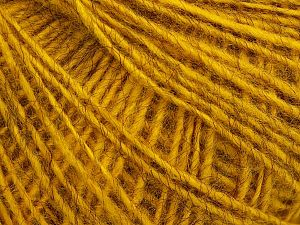 Fiber Content 80% Acrylic, 10% Polyester, 10% Wool, Brand Ice Yarns, Gold, fnt2-70055
