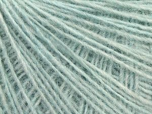 Fiber Content 80% Acrylic, 10% Polyester, 10% Wool, Light Blue, Brand Ice Yarns, fnt2-70056