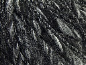 Fiber Content 100% Acrylic, Brand Ice Yarns, Grey Shades, Black, fnt2-70067