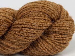 Fiber Content 55% Baby Alpaca, 45% Superwash Extrafine Merino Wool, Milky Brown, Brand Ice Yarns, fnt2-70101