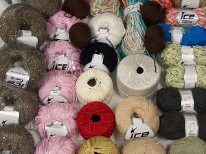 Fancy Yarns In this list; you see most recent 50 mixed lots. <br> To see all <a href=&/mixed_lots/o/4#list&>CLICK HERE</a> (Old ones have much better deals)<hr> Brand Ice Yarns, fnt2-70110