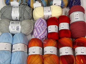 Luxury Yarns In this list; you see most recent 50 mixed lots. <br> To see all <a href=&/mixed_lots/o/4#list&>CLICK HERE</a> (Old ones have much better deals)<hr> Brand Ice Yarns, fnt2-70121