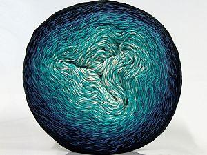 İçerik 55% Organik Pamuk, 45% Antipilling Acrylic, White, Turquoise, Brand Ice Yarns, Blue, Black, fnt2-70159