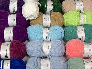 Chenille Types In this list; you see most recent 50 mixed lots. <br> To see all <a href=&/mixed_lots/o/4#list&>CLICK HERE</a> (Old ones have much better deals)<hr> Fiber Content 100% Micro Fiber, Brand Ice Yarns, fnt2-70173