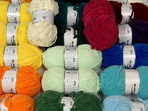 Chenille Types In this list; you see most recent 50 mixed lots. <br> To see all <a href=&/mixed_lots/o/4#list&>CLICK HERE</a> (Old ones have much better deals)<hr> Fiber Content 100% Micro Fiber, Brand Ice Yarns, fnt2-70176