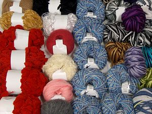 Fancy Yarns In this list; you see most recent 50 mixed lots. <br> To see all <a href=&/mixed_lots/o/4#list&>CLICK HERE</a> (Old ones have much better deals)<hr> Brand Ice Yarns, fnt2-70179