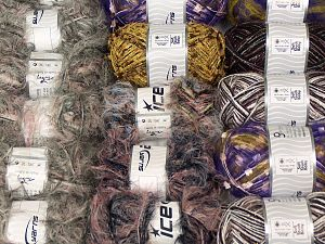 Fancy Yarns In this list; you see most recent 50 mixed lots. <br> To see all <a href=&/mixed_lots/o/4#list&>CLICK HERE</a> (Old ones have much better deals)<hr> Brand Ice Yarns, fnt2-70190