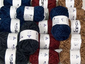 Chenille Light 100 Yarns In this list; you see most recent 50 mixed lots. <br> To see all <a href=&/mixed_lots/o/4#list&>CLICK HERE</a> (Old ones have much better deals)<hr> Fiber Content 100% Micro Fiber, Brand Ice Yarns, fnt2-70199