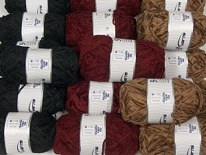 Chenille Light 100 Yarns In this list; you see most recent 50 mixed lots. <br> To see all <a href=&/mixed_lots/o/4#list&>CLICK HERE</a> (Old ones have much better deals)<hr> Fiber Content 100% Micro Fiber, Brand Ice Yarns, fnt2-70202