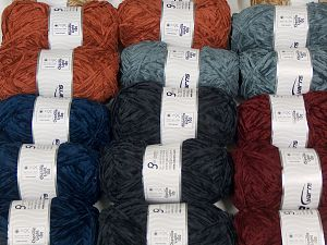 Chenille Light 100 Yarns In this list; you see most recent 50 mixed lots. <br> To see all <a href=&/mixed_lots/o/4#list&>CLICK HERE</a> (Old ones have much better deals)<hr> Fiber Content 100% Micro Fiber, Brand Ice Yarns, fnt2-70203