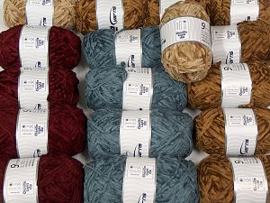 Chenille Light 100 Yarns In this list; you see most recent 50 mixed lots. <br> To see all <a href=&/mixed_lots/o/4#list&>CLICK HERE</a> (Old ones have much better deals)<hr> Fiber Content 100% Micro Fiber, Brand Ice Yarns, fnt2-70204