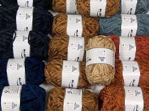 Chenille Light 100 Yarns In this list; you see most recent 50 mixed lots. <br> To see all <a href=&/mixed_lots/o/4#list&>CLICK HERE</a> (Old ones have much better deals)<hr> Fiber Content 100% Micro Fiber, Brand Ice Yarns, fnt2-70207