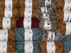 Chenille Light 100 Yarns In this list; you see most recent 50 mixed lots. <br> To see all <a href=&/mixed_lots/o/4#list&>CLICK HERE</a> (Old ones have much better deals)<hr> Fiber Content 100% Micro Fiber, Brand Ice Yarns, fnt2-70208