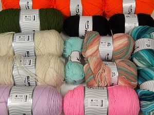 Acrylic Yarns In this list; you see most recent 50 mixed lots. <br> To see all <a href=&/mixed_lots/o/4#list&>CLICK HERE</a> (Old ones have much better deals)<hr> Fiber Content 100% Acrylic, Brand Ice Yarns, fnt2-70215