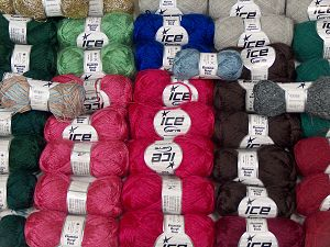 Fancy Yarns In this list; you see most recent 50 mixed lots. <br> To see all <a href=&/mixed_lots/o/4#list&>CLICK HERE</a> (Old ones have much better deals)<hr> Brand Ice Yarns, fnt2-70226