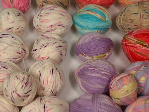 Leftover Yarns In this list; you see most recent 50 mixed lots. <br> To see all <a href=&/mixed_lots/o/4#list&>CLICK HERE</a> (Old ones have much better deals)<hr> Fiber Content 100% Acrylic, Brand Ice Yarns, fnt2-70232