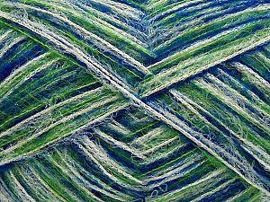 Fiber Content 36% Acrylic, 22% Wool, 21% Polyamide, 20% Nylon, 1% Elastan, White, Saxe Blue, Brand Ice Yarns, Green, fnt2-70243