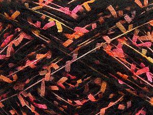 Fiber Content 50% Polyester, 5% Polyamide, 25% Acrylic, 20% Wool, Yellow, Pink, Orange, Brand Ice Yarns, Grey, Black, fnt2-70245