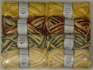 In this list; you see most recent 50 mixed lots. <br> To see all <a href=&/mixed_lots/o/4#list&>CLICK HERE</a> (Old ones have much better deals)<hr> Fiber Content 33% Cotton, 23% Acrylic, 22% Polyamide, 21% Wool, 1% Elastan, Brand Ice Yarns, fnt2-70260