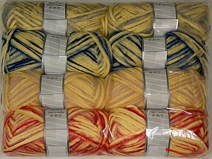 In this list; you see most recent 50 mixed lots. <br> To see all <a href=&/mixed_lots/o/4#list&>CLICK HERE</a> (Old ones have much better deals)<hr> Fiber Content 33% Cotton, 23% Acrylic, 22% Polyamide, 21% Wool, 1% Elastan, Brand Ice Yarns, fnt2-70261