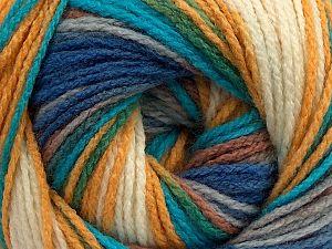Fiber Content 100% Acrylic, Turquoise, Purple, Brand Ice Yarns, Gold, Cream, Brown, fnt2-70346