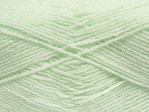 Fiber Content 90% Acrylic, 10% Viscose, Mint Green, Brand Ice Yarns, fnt2-70352