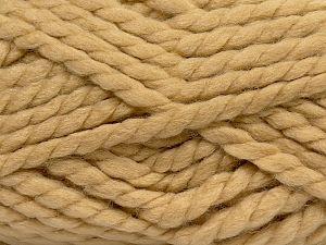 Vezelgehalte 75% Acryl, 25% Wol, Milky Brown, Brand Ice Yarns, fnt2-70357