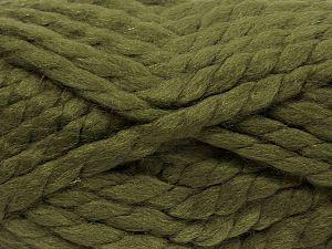 Vezelgehalte 75% Acryl, 25% Wol, Brand Ice Yarns, Green, fnt2-70358