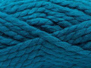 Vezelgehalte 75% Acryl, 25% Wol, Brand Ice Yarns, Emerald Green, fnt2-70360