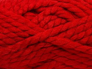 Vezelgehalte 75% Acryl, 25% Wol, Red, Brand Ice Yarns, fnt2-70362