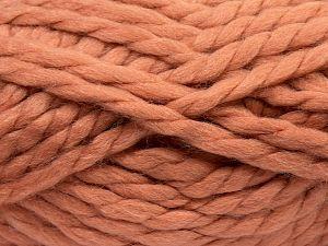 Vezelgehalte 75% Acryl, 25% Wol, Brand Ice Yarns, Dark Salmon, fnt2-70363