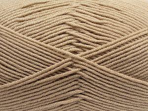 Fiber Content 100% Antibacterial Acrylic, Milky Brown, Brand Ice Yarns, fnt2-70369