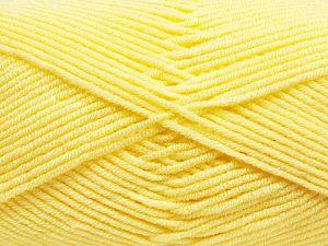Fiber Content 100% Antibacterial Acrylic, Yellow, Brand Ice Yarns, fnt2-70372