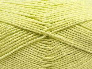 Fiber Content 100% Antibacterial Acrylic, Lime Green, Brand Ice Yarns, fnt2-70373