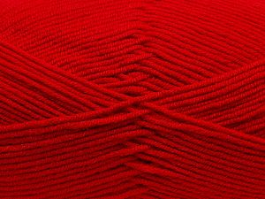 Fiber Content 100% Antibacterial Acrylic, Red, Brand Ice Yarns, fnt2-70376