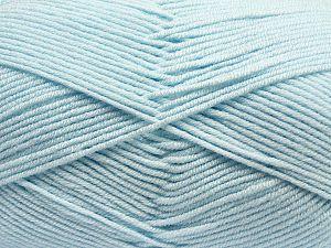 Fiber Content 100% Antibacterial Acrylic, Brand Ice Yarns, Baby Blue, fnt2-70379