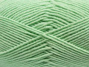 Fiber Content 100% Antibacterial Acrylic, Mint Green, Brand Ice Yarns, fnt2-70381