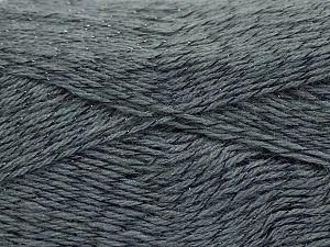 Fiber Content 75% Acrylic, 5% Lurex, 10% Wool, 10% Mohair, Brand Ice Yarns, Grey, fnt2-70382